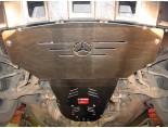 obrázek Kryt motoru a převodovky Mercedes M-Klasse 2007-